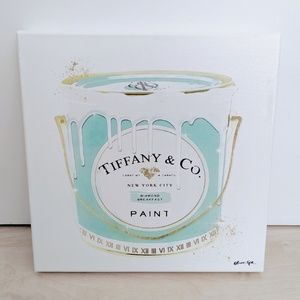 Oliver Gal Tiffany & Co. Fashion Painting Canvas